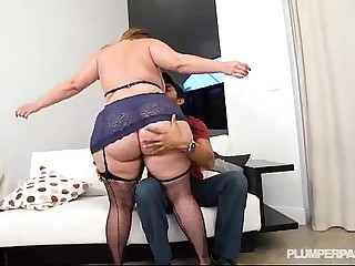 Big Booty PAWG Mazzaratie Monica Banged by Latino Stud