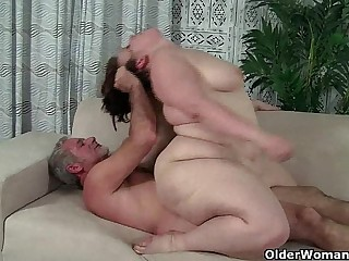 BBW milf Cherie A. Lunas gets fucked and facialized