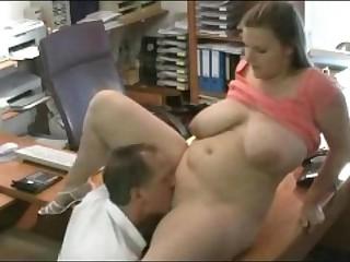 Fucking my Fat Chubby Secretary at the office
