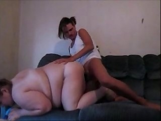 Fat Tan Line Wife Sucks & Fucks Like A Slut With Deep Creampie