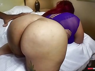 Chubby blasian getting big dick in BBWHIGHWAY