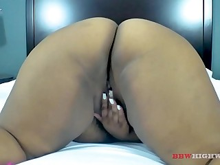 fat ass Berry Gorgeous returns to take more big black cock