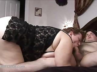 Fat Wife Carla Sucks Cock Amateur, BBW Blowjob Cumshot Hardcore Mature