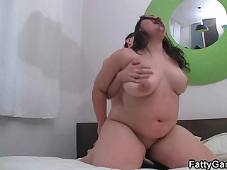 Fat pussy banging after sexy massage