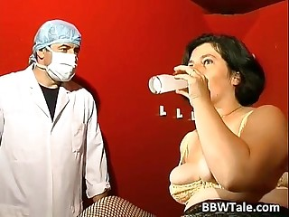 BBW mature slut in BDSM game of sex