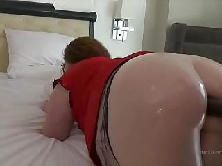 Thick Redhead BBW Anal Interracial Fuck