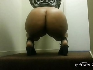 Bbw chick begs for mercy