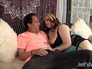 Cute and horny BBW bitch Buxom Bella hardcore sex