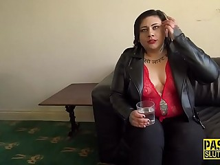 Throated and spideragged submissve bbw