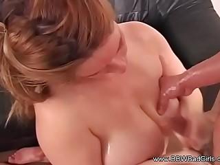 Horny Cousin Cums On BBW