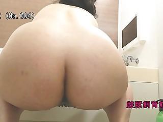 Japanese bbw milf creampie and impregnate and enema