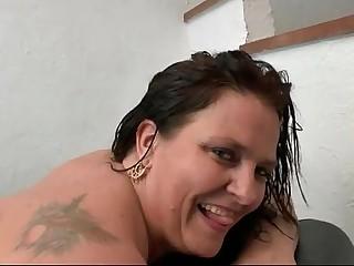 BBW French slut hard her big ass pounded