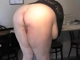 Blonde bbw mature anal sex