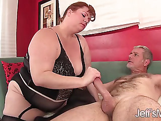 Hot redhead big beautiful woman julie ann greater amount takes a hardcore pounding