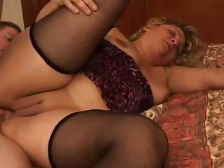 BBW anal on bed