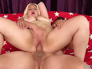 GoldenHaired big beautiful woman