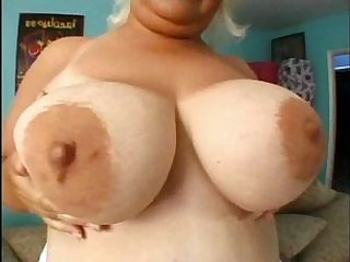 Mature old and fat blonde with...