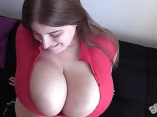 Breasty tugjob