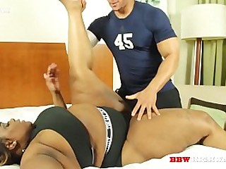 big booty ebony girl gets fuck by her coach part 1