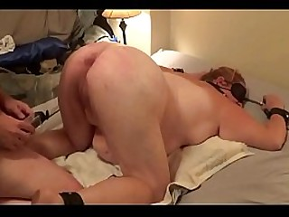 15-10-06 BBW Slave Used for cropping anal bondage
