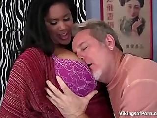 Ebony BBW Fuck Babe Fucking With Big Cock