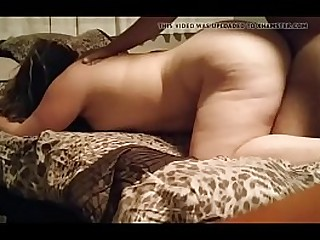 big booty bbw orgams on my cock and creampie