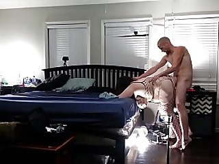 Fucking my bbw wife from behind,dripping creampie angle 5a - Pumhot.com