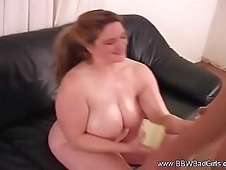 Nice Tits BBW Handjob
