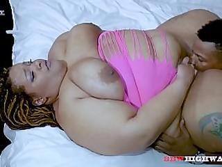 Don Prince enjoys a large butt ssbbw